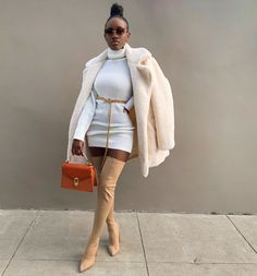 """""""My fav looks ❄️🍂❤️🌸""""𝒮. Girls Winter Fashion, Black Girl Fashion, Winter Fashion Outfits, Look Fashion, Winter Outfits, Fashion Weeks, Gothic Fashion, Baddie Outfits For School, Dope Outfits"""