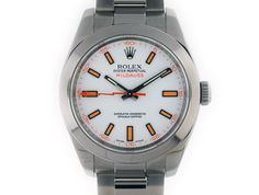 Rolex Millgauss. Full Size 40mm Stainless Steel, latest model with Anti-Magnetic Sapphire Shield Crystal #rolex #milguass