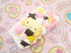 Kawaii Cinnamoroll Chiffon - Decoden Whip Cream Case for iPhone 4/4s