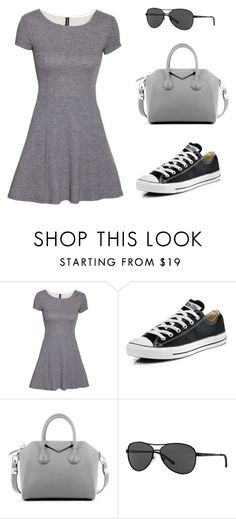 """""""Untitled #223"""" by jovanaaxx on Polyvore featuring H&M, Converse, Givenchy, Ralph Lauren, women's clothing, women, female, woman, misses and juniors"""