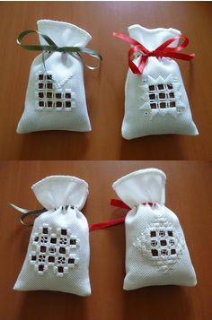 Longchamp Bricole: Our lavender scent sachets: Hardanger embroidery – Embroidery Desing Ideas Embroidery Designs, Types Of Embroidery, Learn Embroidery, Modern Embroidery, Embroidery Art, Tambour Embroidery, Hardanger Embroidery, Loom Patterns, Craft Patterns