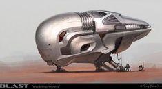 Megapost: Arte futurista y naves espaciales (Parte IV)