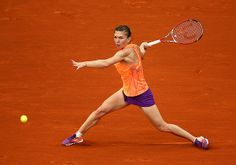 Simona Halep plays Svetlana Kuznetsova for a spot in the French Open semifinals. (Clive Brunskill/Getty Images) PARIS -- It seems like every player has their French Open, Wimbledon, Sloane Stephens, Simona Halep, Australian Open, Tennis Players, Tennis Racket, Fitness Inspiration, Champion