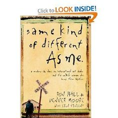 I loved this book!  So much so that I gave mine to my Dad and bought one for my sister.  I then bought a new copy for me!  It's about an unlikely friendship between a rich man and a poor man.  Touching and beautiful!