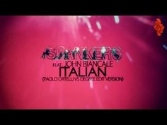 SPANKERS feat. JOHN BIANCALE - Italian (Lyrics Video)