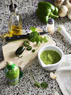 Dip Recipes, Healthy Recipes, Healthy Food, Tzatziki, Palak Paneer, Starters, Guacamole, Pesto, Cantaloupe