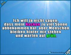 Nacken vergessen einzuschmieren x.x #Sonnenbrand #Sommer #lustigeBilder #Sprüche #lustigeTweets #Humor