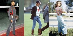 What Jeans Looked Like the Year You Were Born Wardrobe Basics, Work Wardrobe, Western Look, Opaque Tights, Tommy Hilfiger Jeans, Denim Flares, Skin Tight, Vintage Jeans, Mom Style