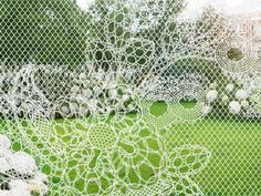 Lace Fence by Duch Design House Demakersvan