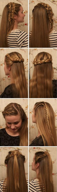 4 Amazing Braided Hairstyles inspired by Vikings Series <3