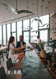 Aurora Rooftop Bar | Hotel Andaz Vienna Am Belvedere | Wien Great Buildings And Structures, Modern Buildings, Modern Architecture, Dj Sound, Beautiful Castles, Beautiful Homes, Best Instagram Photos, Countries To Visit, European Destination