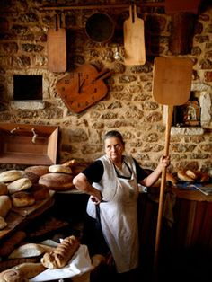 traditional bakery at Mani, Greece