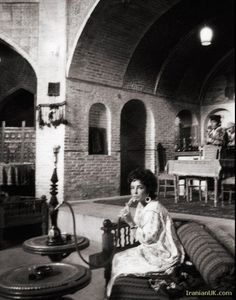 Elizabeth Taylor at Iran