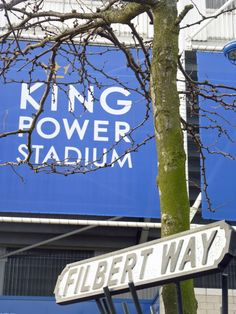 Any fans? Get your own piece of - exclusive to us road signs! Leicester City Football, Leicester City Fc, Kasper Schmeichel, Jamie Vardy, Blue Army, Premier League Champions, King Power, English Premier League, Foxes