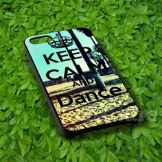 Keep Calm and Dance 2 For iphone 4/4s case, iphone 5/5s,iphone 5c, samsung s3 i9300 case, samsung s4 i9500 case in Zattura