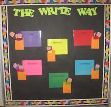 FABULOUS website with mini lesson ideas for all six writing traits