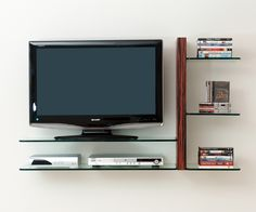 10 best wall mounted flat screen tv shelves images on pinterest tv rh pinterest com flat screen tv shelves for the wall flat screen tv shelves for the wall