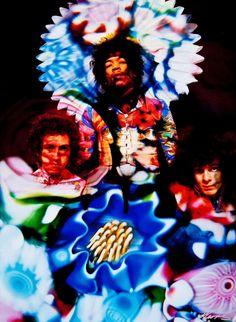 Jimi Hendrix Experience 1967  Photo by Karl Ferris