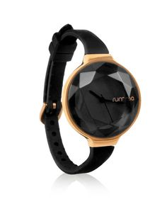Style Number: 15628 Color: Black & Rose Gold 30mm Wide Face Japanese Movement & Stainless Steel Back Soft Silicone Band 3ATM (99 feet) Water Resistance Ultra Lightweight (34 Grams) 1 Year Warranty