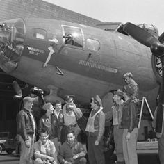 "B-17 ""Memphis Belle"" a War Bond Tour | The B17 Flying Fortress the 'Memphis Belle' (Serial No. 41-24485 ..."