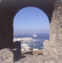 Mykonos, Greece, by far the most beautiful city and incredible food in my travels
