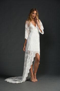 Vestido de noiva estilo Boho chic!