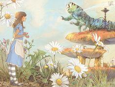 Alice in Wonderland. Illustrator:  Massimiliano Longo. Printed in 2010 by Grafica Veneta S.p.A. — Trebaseleghe (PD) Italy.