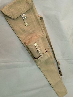 bd57c5a81c5b WWII BRITISH WEB CARRY CASE for the SMLE Lee-Enfield Rifle - Repro
