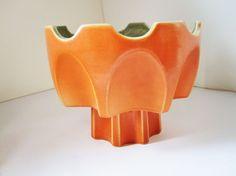 Belle Kogan Red Wing Bowl No. 788  A Pedestal Vase by RetroMama65