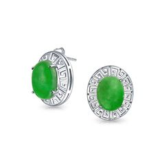 Jade Earrings Studs Google Search