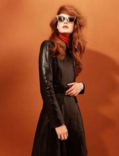 Esme Wissels by Adriano Russo for Fashion Gone Rogue - When you combine a bold bouffant, wildly exaggerated wing-tipped eyeliner and shag-tastic, 60s-influenced designs, the results can only be extraord...