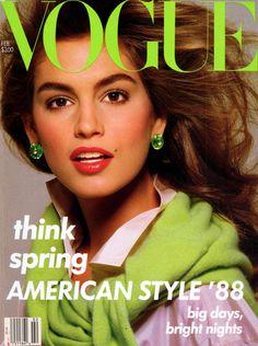 Cindy Crawford by Richard Avedon Vogue US February 1988