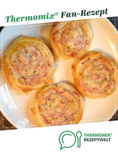Blätterteigschnecken von Neonne. Ein Thermomix ® Rezept aus der Kategorie Backen herzhaft auf www.rezeptwelt.de, der Thermomix ® Community.