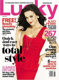 Katy Perry - Lucky Magazine - June 2010