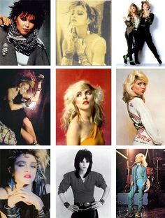 80's fashion icons