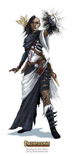 Pathfinder: Occultist by kirileonard on DeviantArt