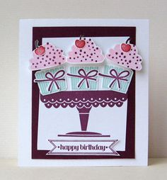 Create a cupcake - Stampin' Up!
