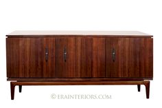 "Era Interiors - Newly made custom mahogany credenza.  54"" w x 20"" d x 30″ h.  Available in custom sizes, materials & finishes.  Price not listed."