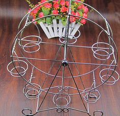 Dessert Table Decor Cake Snack Tray Holder Rack Creative Ferris Wheel DIY Baking Tools Afternoon Tea Dessert Fruit Plate LF33|Dishes & Plates| - AliExpress Dessert Table Decor, Table Decorations, Wall Mounted Kitchen Storage, Cheap Wedding Decorations, Classic Theme, Fruit Plate, Wedding Desserts, Aluminium Alloy, Unique Weddings