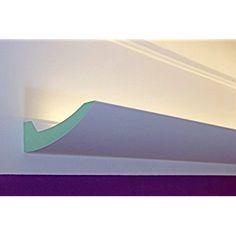 Epic BENDU u Klassische und gleichzeitig moderne LED Stuckleisten bzw Lichtvouten f r indirekte Beleuchtung aus Hartschaum