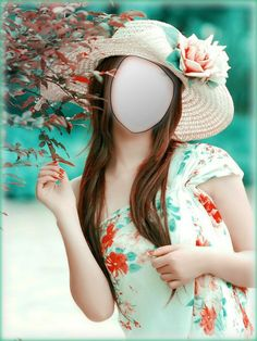 Beautiful Girl With Hat