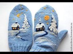 Вязаные Варежки - 2019 / Knitted Mittens / Strickhandschuhe / Guanti a maglia - Baby Mittens, Crochet Mittens, Mittens Pattern, Fingerless Mittens, Crochet Gloves, Knitting Socks, Baby Knitting, Start Knitting, Knitting Wool