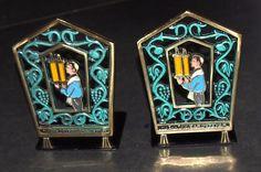 Judaica Bronze Book Holder Pair of Bookend Bar Mitzvah vintage 1960's Decorated