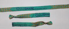 Pulseras de tela personalizadas #ouishare #permanent #beta