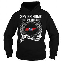 Awesome Tee Sevier Home, Tennessee - Its Where My Story Begins Shirts & Tees