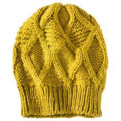 Mossimo® Textured Beanie Hat - Yellow