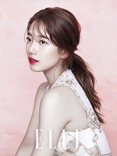 Suzy Bae Poses For Elle China September 2016 Issue Bae Suzy, Korean Beauty, Asian Beauty, Miss A Suzy, Korean Celebrities, Stunningly Beautiful, Korean Actresses, Beauty Editorial, Marie Claire