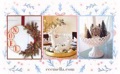 Christmas Traditions, Christmas Themes, Christmas Lights, Christmas Wreaths, Christmas Crafts, Merry Christmas, Gold Christmas, Handmade Christmas Decorations, Christmas Centerpieces