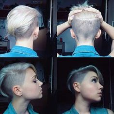 Today we have the most stylish 86 Cute Short Pixie Haircuts. We claim that you have never seen such elegant and eye-catching short hairstyles before. Pixie haircut, of course, offers a lot of options for the hair of the ladies'… Continue Reading → Short Sides Haircut, Short Hair Cuts, Short Hair Styles, Pixie Cuts, Shaved Side Haircut, Pixie Styles, Undercut Hairstyles, Pretty Hairstyles, Short Shaved Hairstyles