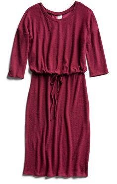 Stitch Fix Fall Stylist Picks: Red Knit Midi Dress